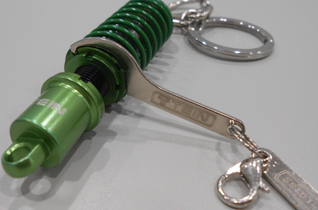 DAMPER KEY CHAIN (GREEN/BLACK) picture3