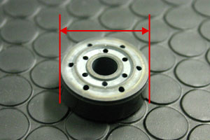 Piston Valve, sufficient enough in size, used inside TEIN Damper